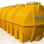مخزن اسید و مواد شیمیایی | مخزن پلی اتیلن صنعتی